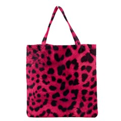 Leopard Skin Grocery Tote Bag by BangZart