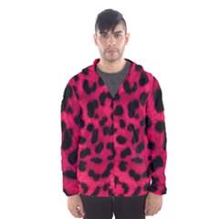 Leopard Skin Hooded Wind Breaker (men)