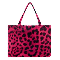 Leopard Skin Medium Tote Bag
