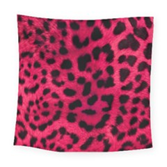Leopard Skin Square Tapestry (large) by BangZart