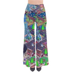Pixel Art City Pants