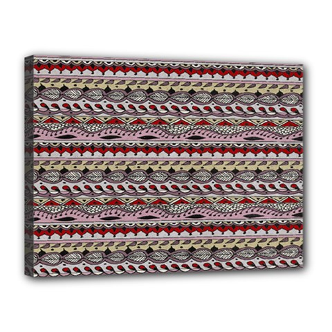 Aztec Pattern Patterns Canvas 16  X 12