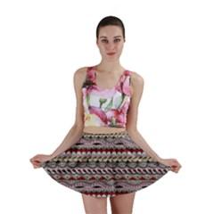 Aztec Pattern Patterns Mini Skirt by BangZart