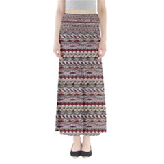 Aztec Pattern Patterns Full Length Maxi Skirt