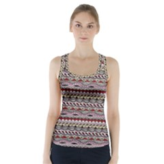 Aztec Pattern Patterns Racer Back Sports Top