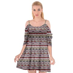 Aztec Pattern Patterns Cutout Spaghetti Strap Chiffon Dress by BangZart