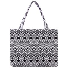 Aztec Design  Pattern Mini Tote Bag