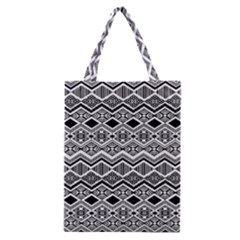 Aztec Design  Pattern Classic Tote Bag by BangZart