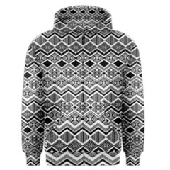 Aztec Design  Pattern Men s Zipper Hoodie