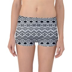 Aztec Design  Pattern Boyleg Bikini Bottoms