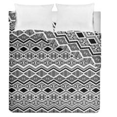 Aztec Design  Pattern Duvet Cover Double Side (queen Size) by BangZart