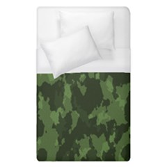 Camouflage Green Army Texture Duvet Cover (single Size) by BangZart