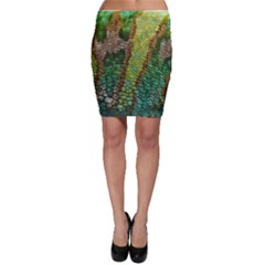 Chameleon Skin Texture Bodycon Skirt by BangZart