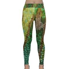 Chameleon Skin Texture Classic Yoga Leggings