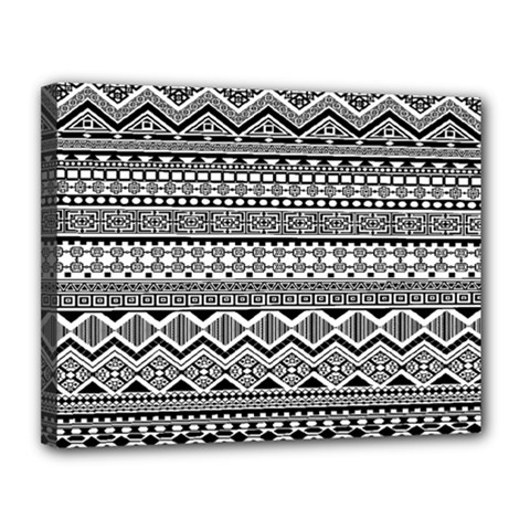 Aztec Pattern Design Canvas 14  X 11  by BangZart
