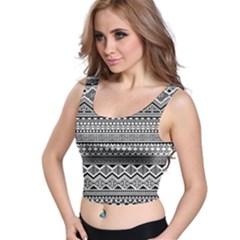 Aztec Pattern Design Crop Top
