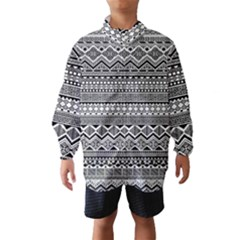 Aztec Pattern Design Wind Breaker (kids)