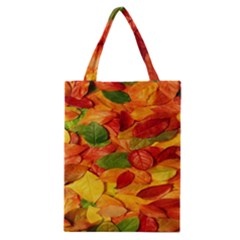 Leaves Texture Classic Tote Bag by BangZart