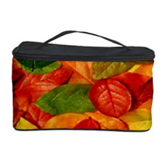 Leaves Texture Cosmetic Storage Case by BangZart