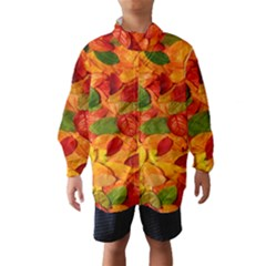Leaves Texture Wind Breaker (kids)
