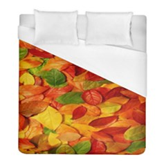 Leaves Texture Duvet Cover (full/ Double Size) by BangZart