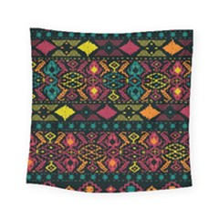 Bohemian Patterns Tribal Square Tapestry (small)