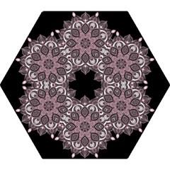 Ornate Mandala Mini Folding Umbrellas by Valentinaart
