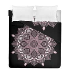 Ornate Mandala Duvet Cover Double Side (full/ Double Size) by Valentinaart
