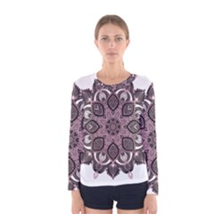 Ornate mandala Women s Long Sleeve Tee