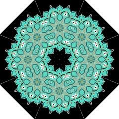 Ornate Mandala Hook Handle Umbrellas (large) by Valentinaart
