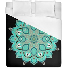 Ornate Mandala Duvet Cover (california King Size) by Valentinaart