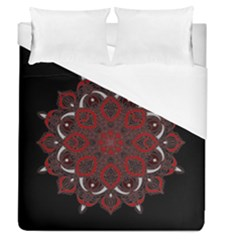 Ornate Mandala Duvet Cover (queen Size) by Valentinaart