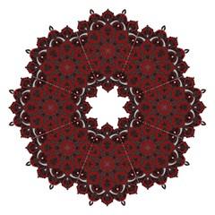 Ornate Mandala Straight Umbrellas by Valentinaart