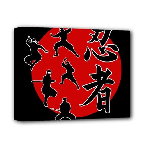 Ninja Deluxe Canvas 14  X 11  by Valentinaart