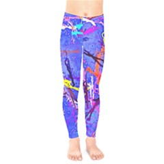 Paint Splashes                    Kids  Leggings