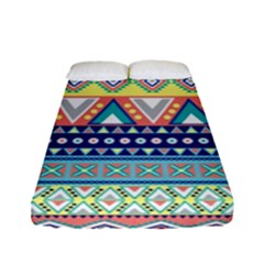 Tribal Print Fitted Sheet (full/ Double Size)