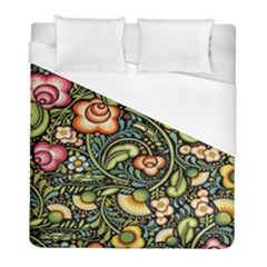 Bohemia Floral Pattern Duvet Cover (full/ Double Size)
