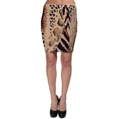 Animal Fabric Patterns Bodycon Skirt