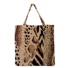 Animal Fabric Patterns Grocery Tote Bag by BangZart