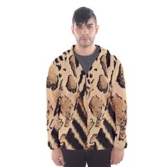 Animal Fabric Patterns Hooded Wind Breaker (men)