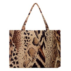 Animal Fabric Patterns Medium Tote Bag by BangZart