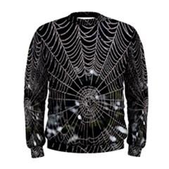 Spider Web Wallpaper 14 Men s Sweatshirt