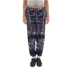 Spider Web Wallpaper 14 Women s Jogger Sweatpants