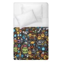 Many Funny Animals Duvet Cover (single Size)