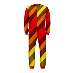 Abstract Bright Stripes Onepiece Jumpsuit (kids)