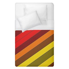 Abstract Bright Stripes Duvet Cover (single Size)