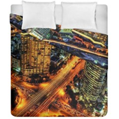 Hdri City Duvet Cover Double Side (california King Size)