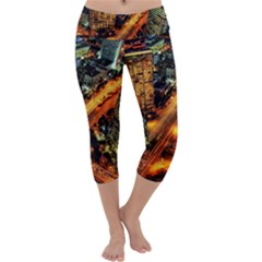 Hdri City Capri Yoga Leggings