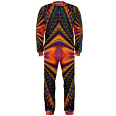 Casanova Abstract Art Colors Cool Druffix Flower Freaky Trippy Onepiece Jumpsuit (men)