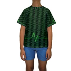 01 Numbers Kids  Short Sleeve Swimwear
